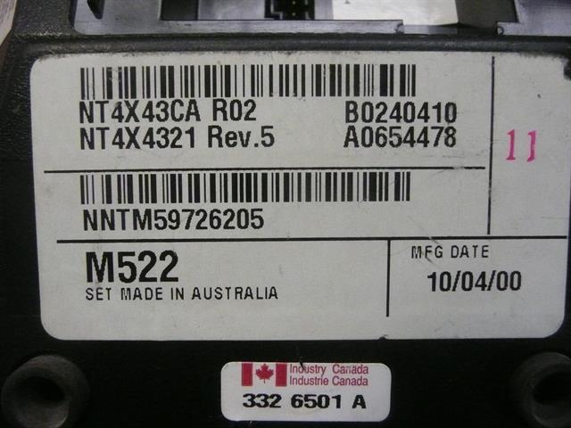 M522 / NT4X43CA Nortel image