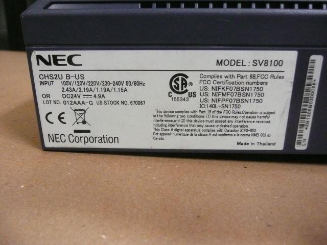 CHS2UB-US / 670067 NEC image