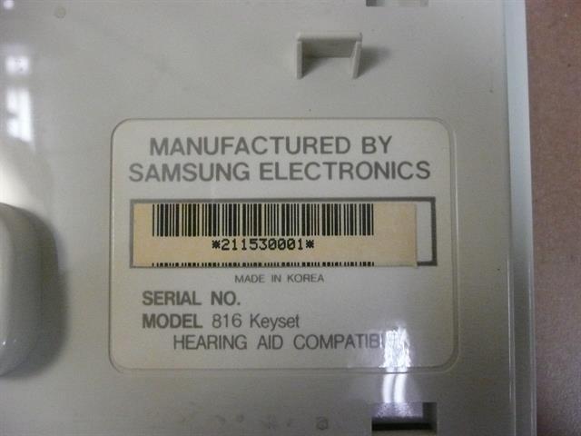 816 DIS 16A (B-Stock) Samsung image
