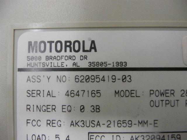 62095419-03 Motorola image