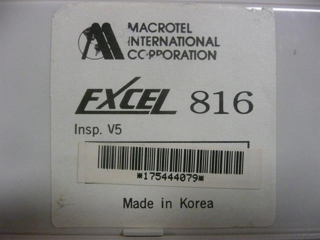 Macrotel 2208005E - 816 Phone image