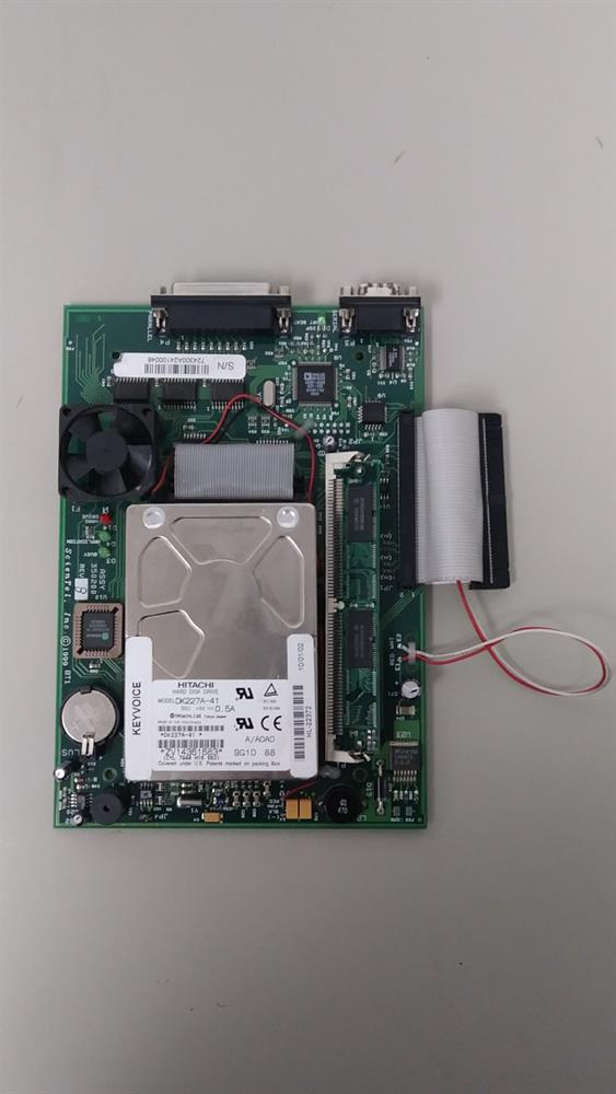 Comdial DX-80 PC8 7243 8 Port/160 Hour Voice Mail Circuit Card image