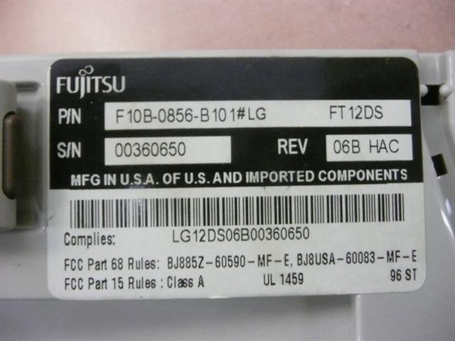 F10B-0856-B101#LG Fujitsu image