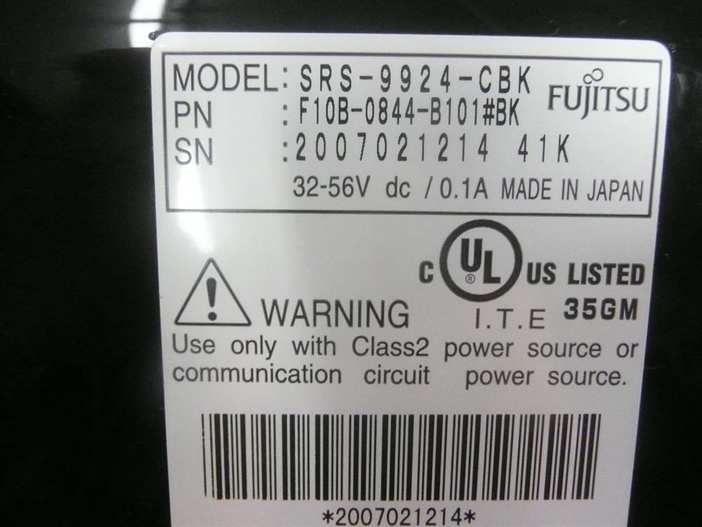 F10B-0844-B101#BK Fujitsu image