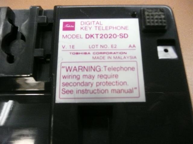 DKT2020-SD Charcoal Toshiba image