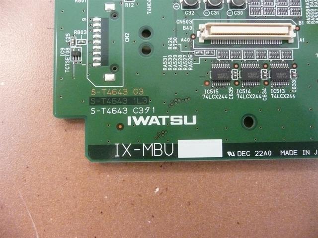 IX-MBU / 101270 Iwatsu image