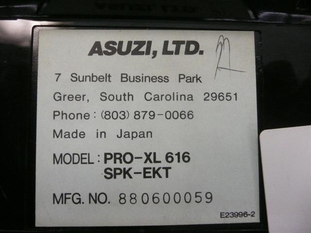 PRO-XL 616 SPK Asuzi image