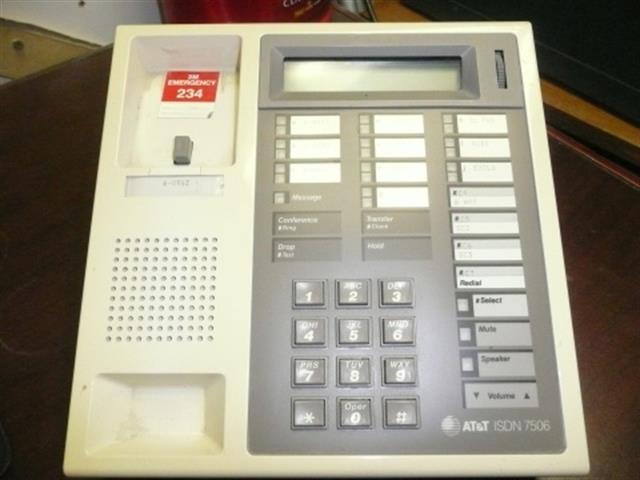ISDN 7506 AT&T image