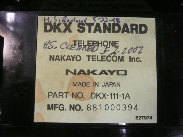 DKX-111-1A Teleconnect image
