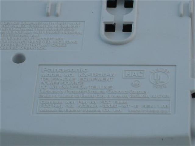 KX-TS10 Panasonic image