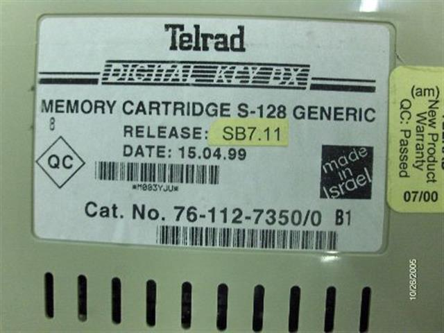 76-112-7350 (Version 7.11) Telrad image