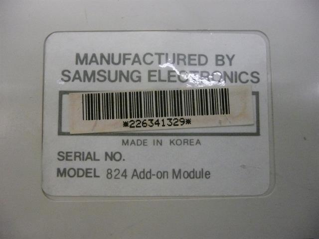824 STD 32A Add-On Samsung image