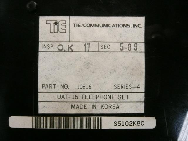 10816 - UAT-16 (B-Stock) Tie image