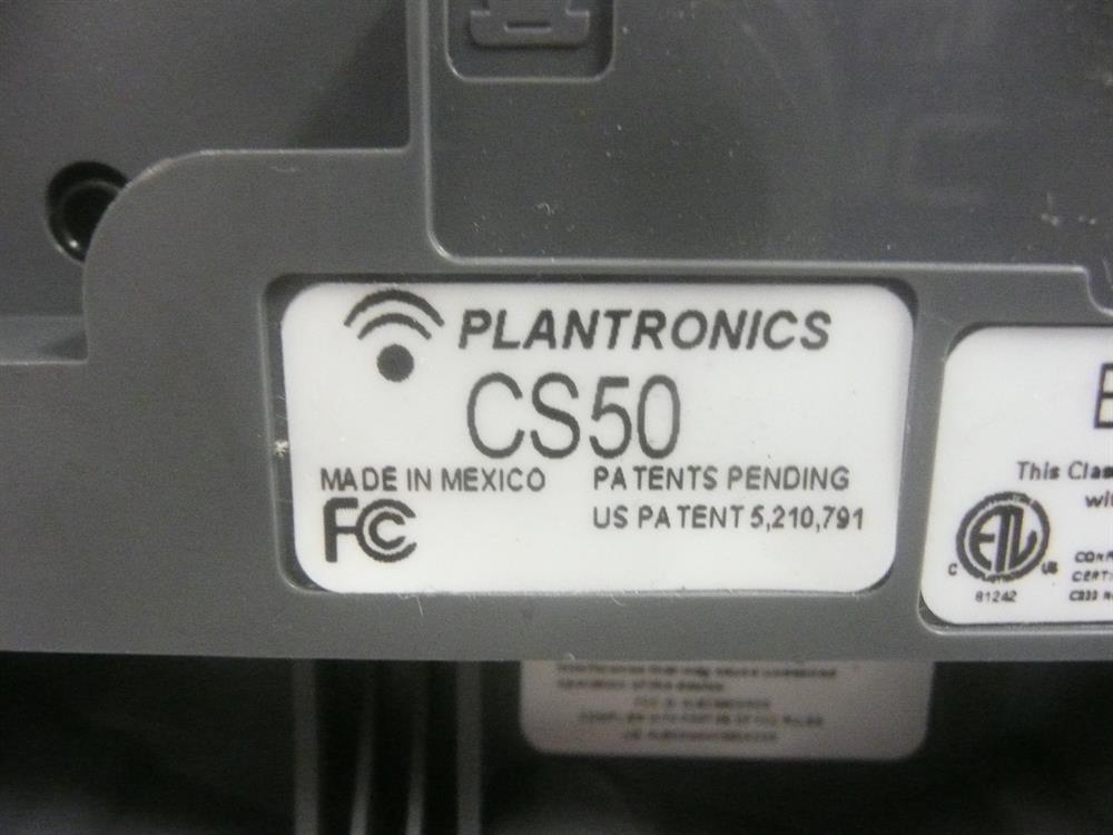 CS 50 (Base Only) Plantronics image