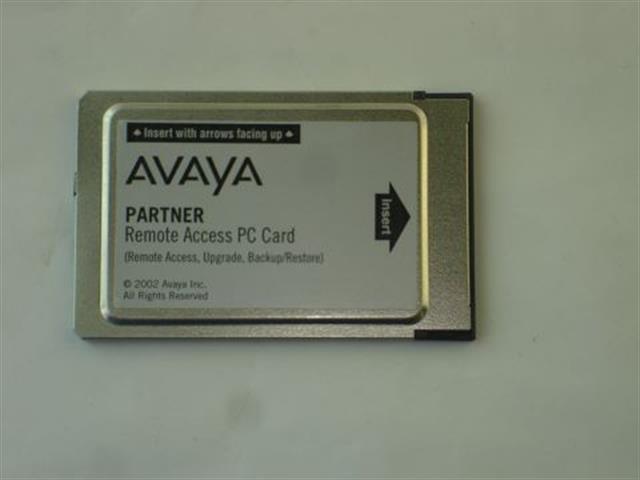 Avaya 12G4 PC Card image