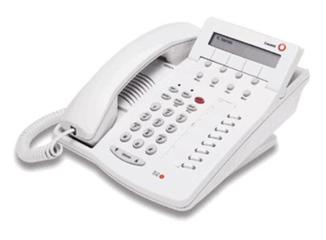 Avaya 6408D+ 108163973 White 8 Button Digital Telephone with Display image