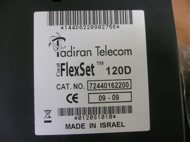 120D (72440162200) Charcoal with Silver Face Plate Tadiran image