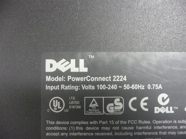 PowerConnect 2224 Dell image