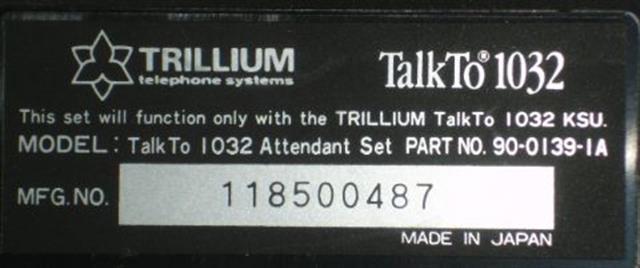90-0139 Trillium image