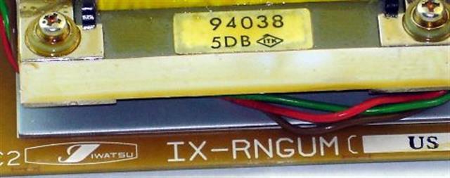 IX-RNGUM / 040500 Iwatsu image