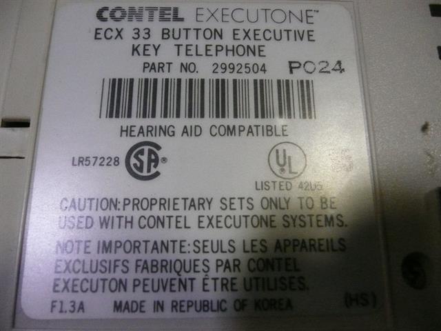 2992504 Executone- Isoetec image