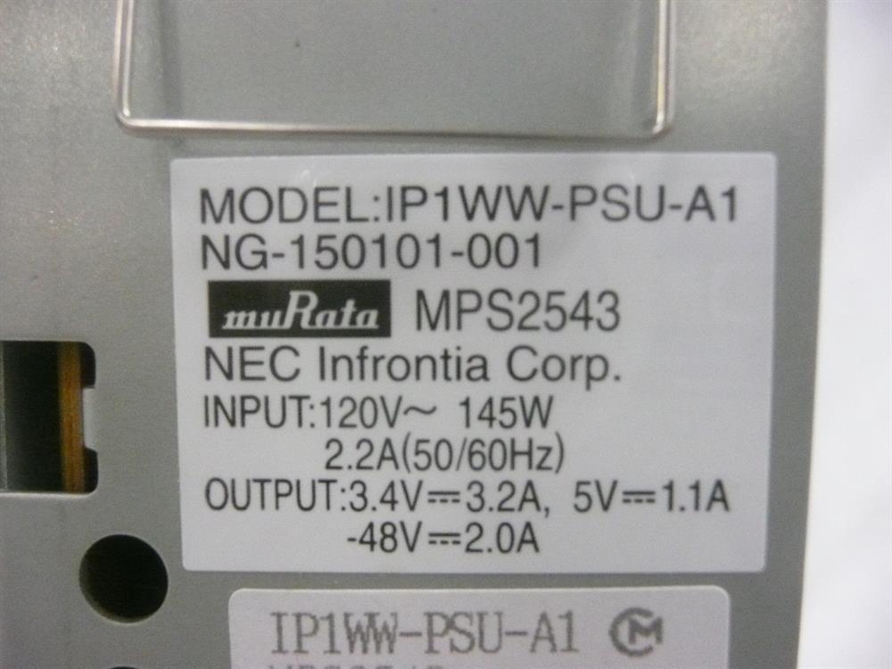 0891000 / IP1WW-PSU-A1 NEC image