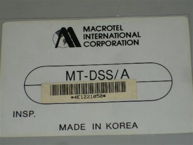 MT-DSS/A Macrotel image