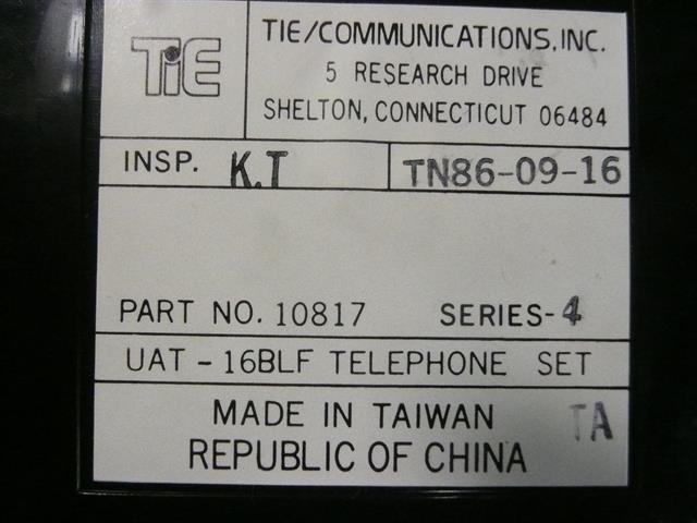 Tie 10817 - UAT-16 BLF Phone image