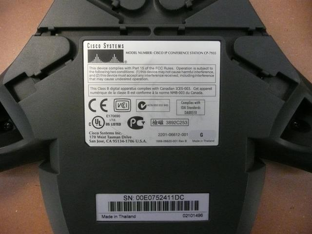 CP-7935 Cisco image