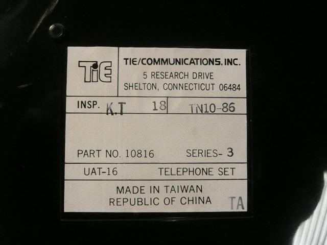 Tie 10816 - UAT-16 Phone image