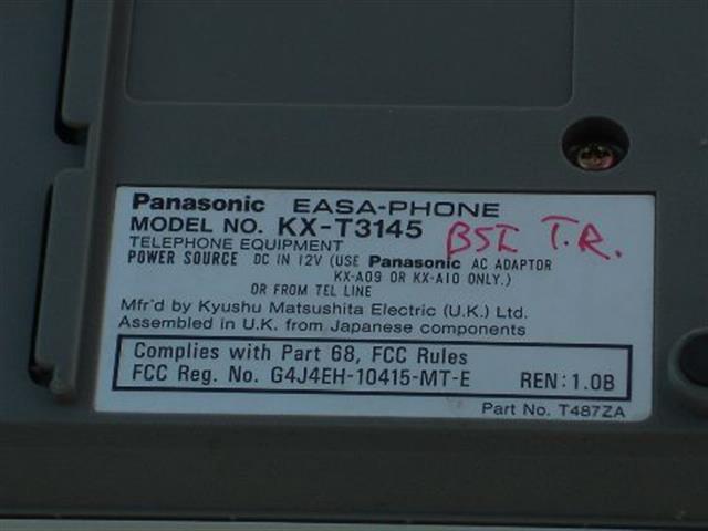 KX-T3145 Panasonic image
