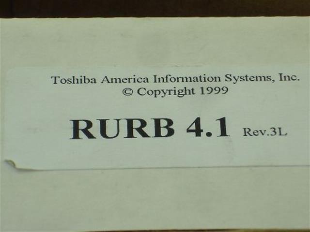 RURB 4.1 (NIB) Toshiba image