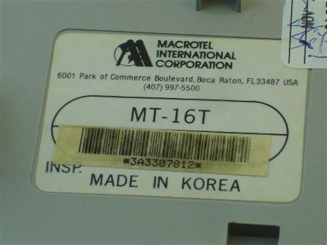 MT-16T [B-Stock] Macrotel image