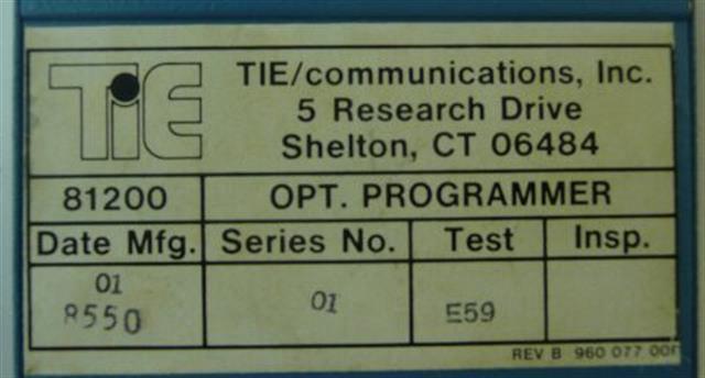 81200 NEC - Nitsuko - Tie image