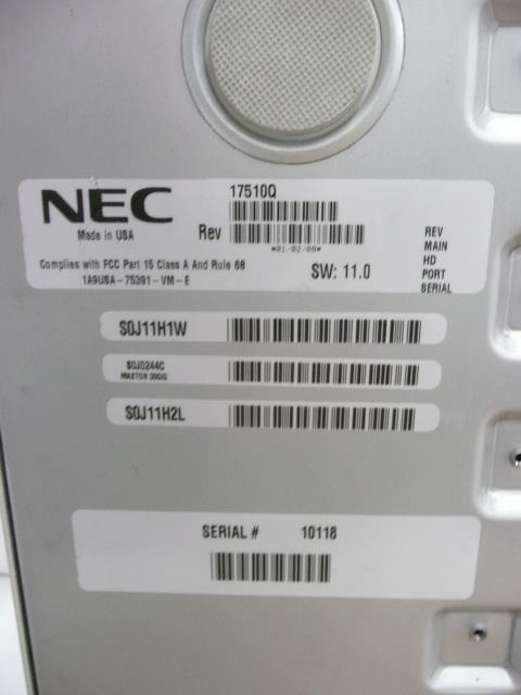 17510Q NEC - Nitsuko - Tie image