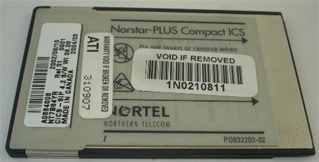NT7B64YR - A0884008 Nortel-Norstar image