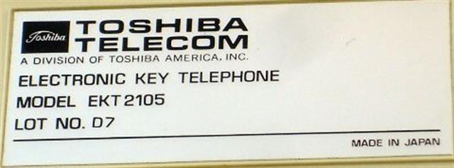 2105 (B Stock) Toshiba image