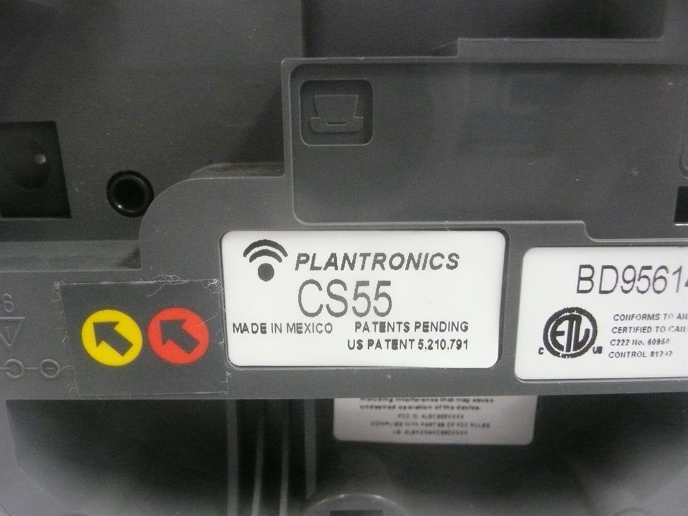 CS 55 (Base Only) Plantronics image