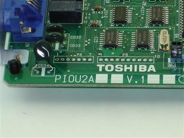 PIOU2A Toshiba image