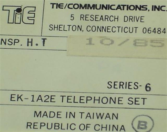 Tie EK-1A2E (B-Stock) Phone image
