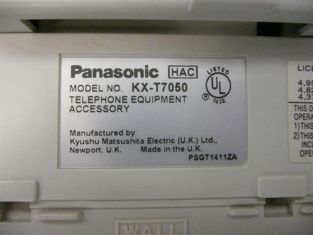 KX-T7050 Panasonic image