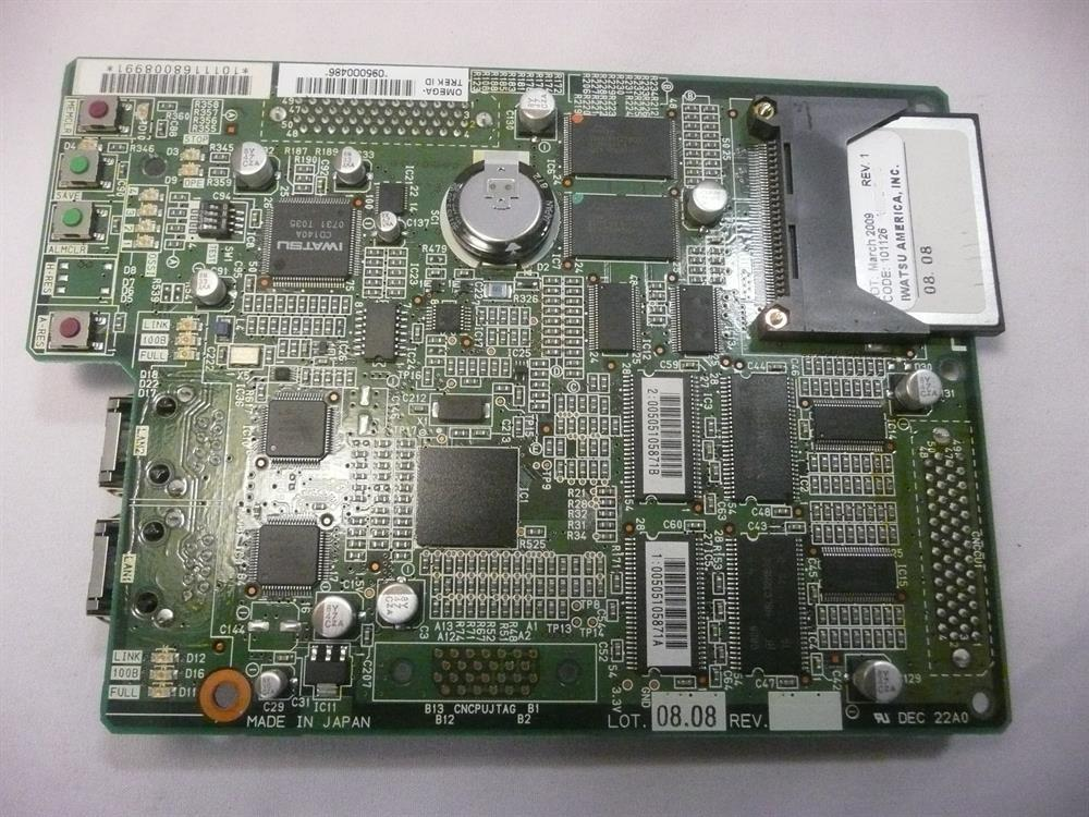 Iwatsu ECS IX-CCSU 101116 Software Card w/o Compact Flash Card image