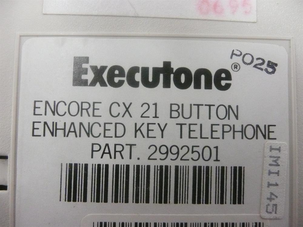 2992501 Executone- Isoetec image