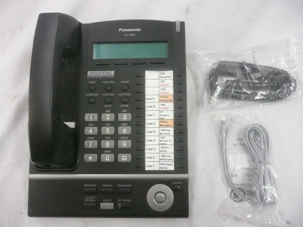 KX-T7630B Panasonic image
