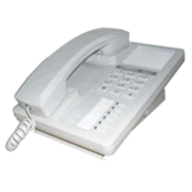 Comdial Impact SCS 8201N-PT Platinum Grey Single Line Digital Telephone image