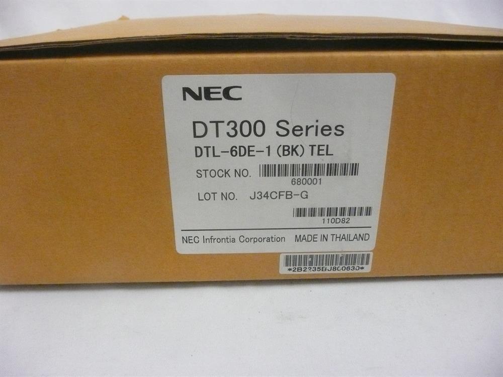 DTL-6DE-1 / 680001 (NIB) New in Box NEC DT300 Series image