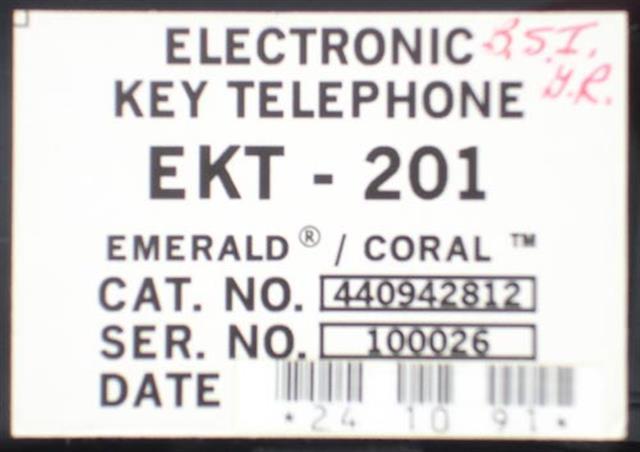 EKT201 - 440942812 Tadiran image