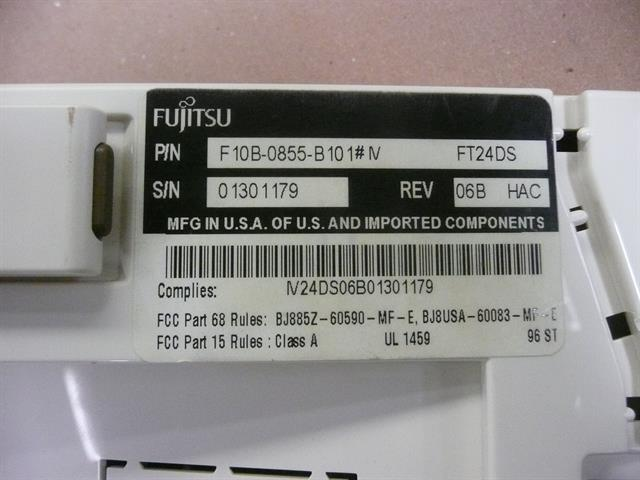 F10B-0855-B101#IV Fujitsu image