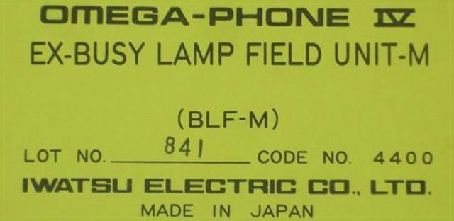 BLF-M - 4400 Iwatsu image