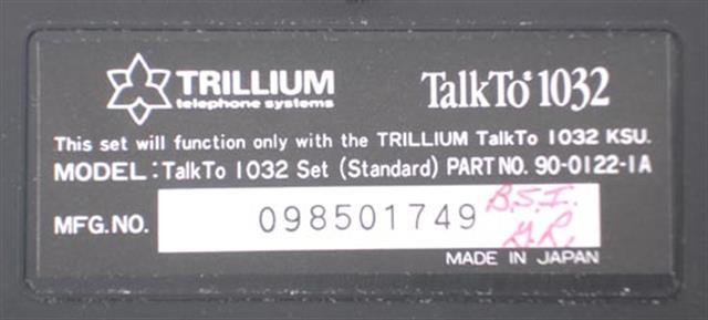 90-0122 Trillium image